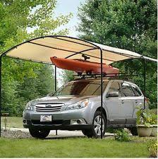 Garage Awning Kit Carport Canopy Ebay