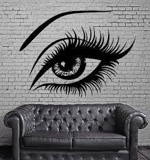 sexy beautiful female eye big eye lashes decor wall mural vinyl sexy beautiful female eye big eye lashes decor wall mural vinyl art sticker m526