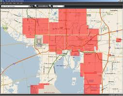 Zip Code Map Orlando by Map Of Hillsborough County Zip Codes Zip Code Map