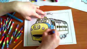 chuggington new coloring pages for kids colors trains coloring