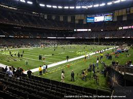 mercedes superdome mercedes superdome section 124 seat views seatgeek