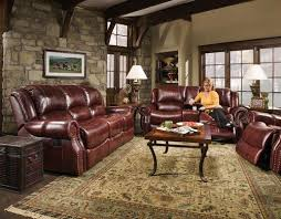 alexander reclining leather sofa set