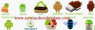 list of android versions all android versions list with names released till now