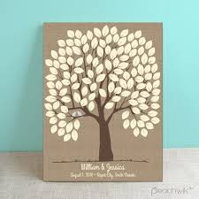 wedding tree guest book peachwik guest book wedding tips and inspiration