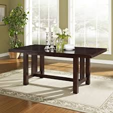 amazon com 6 piece solid wood dining set cappuccino table benches