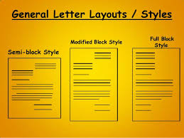 general letter format letter writing business personal letter writing format