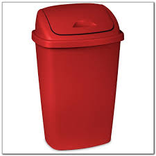 rubbermaid kitchen trash can red kitchen set home decorating