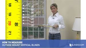 how to measure for outside mount vertical blinds u0026raquo