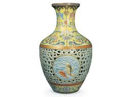 Vase Sets Qianlong Dynasty Vase Sets Record By Fetching 83 2 Million