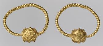 gold erring gold earring work of heilbrunn timeline of history
