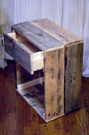 How To Make A Wooden End Table by 14 Inspiring Diy Projects Featuring Reclaimed Wood Furniture