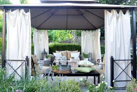 Outdoor Cabana Curtains Essentials For A Cozy Outdoor Cabana