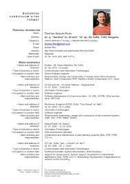 Perl Resume Sample by German Resume Template Resume Cv Cover Letter Apply For A Phd How