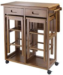 kitchen island cart with stools kitchen island cart with stools better than a table