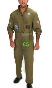 Halloween Costumes Military Nwt Mens Military Fighter Pilot Jumpsuit Halloween