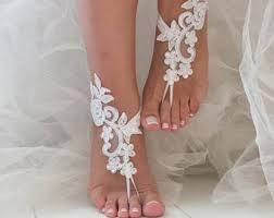 barefoot sandals wedding wedding barefoot sandals etsy