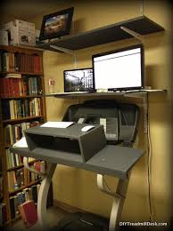 Diy Treadmill Desk Ikea A Year Of Walking And Working Diy Treadmill Desk Update Diy