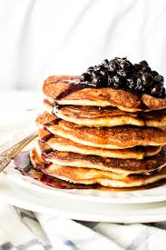 Blueberry Pancake Recipe Blueberry Corn And Bacon Pancakes Savory Nothings