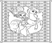 nella princess knight coloring pages free download printable