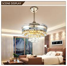 fan with retractable blades ceiling fans with retractable blades white leaf pattern hidden