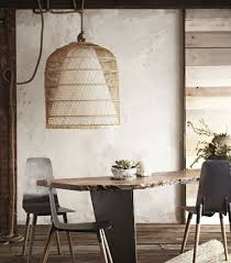 Wicker Pendant Light This Is Happening Natural Fiber Lighting Mydomaine