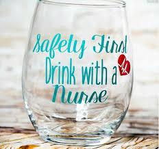 Graduation Wine Glasses Best 25 Nursing Graduation Gifts Ideas On Pinterest Nursing