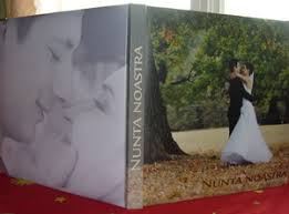 photo albums personalized personalized wedding album all about wedding