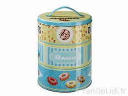 boite metal cuisine boîte à biscuits cuisson et cuisine fan de lidl fr