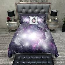 space rocket double duvet cover kids space bedding set duvet