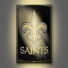 nfl motion activated light up decals new orleans saints all star sports collectibles autographed