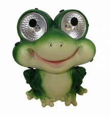 solar frog light garden pals frog set of 2 decorative solar light for outdoor areas