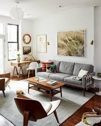 Ideas Art Mid Century Modern Living Room  Bright Midcentury - Interior design mid century modern