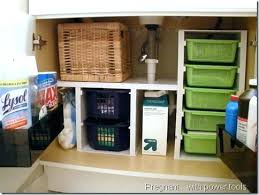 bathroom organizers ideas bathroom cabinet organizer sweetdesignman co