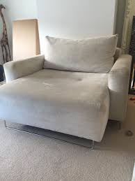 Cuddler Chaise Living Room Semi Circle Couch Cuddler Sofa Round Couches