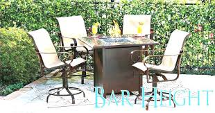 Patio Chairs Bar Height Design Wonderful Bar Height Patio Table Bar Height Patio Furniture