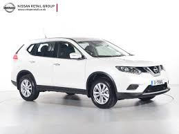 0 finance nissan x trail nearly new nissan for sale x trail 1 6 dci visia white nissan