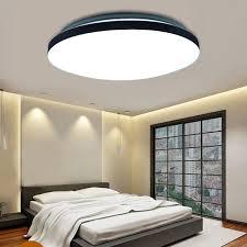 Led Deckenbeleuchtung Wohnzimmer 24w Led Design Deckenlampe Deckenleuchte Wohnzimmer Küche Flur
