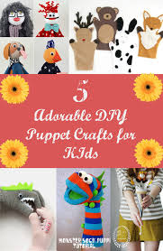 5 adorable diy puppet crafts for kids discountqueens com