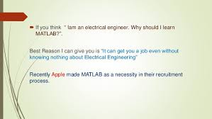 matlab for electrical engineers