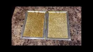 stove top exhaust fan filters how to clean stove hood filter youtube