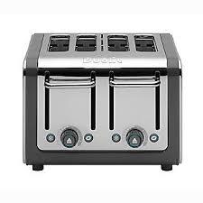 Dualit 4 Toaster Dualit 4 Slice Architect Toaster Grey 46526