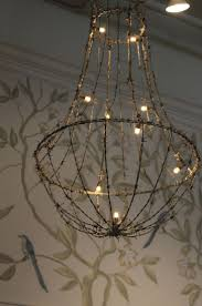Wire Chandeliers 22 Best Rustic Crystal Chandelier Images On Pinterest Crystal