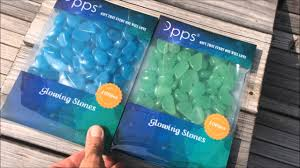 Pebbles And Rocks Garden Opps Brand Glow In The Luminous Garden Pebbles Rocks Review