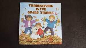 thanksgiving is for giving thanks read aloud