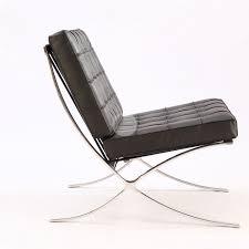 replica barcelona chair platinum edition black gold coast