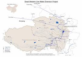 China River Map by Claude Arpi February 2014