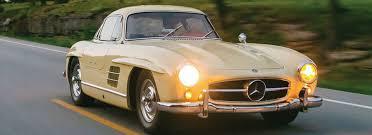 1955 mercedes benz 300sl auto museum exhibit newport ri