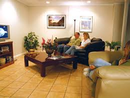 Ideas For Basement Floors Finished Basement Flooring Tiles In Madison Wi Easy To Install