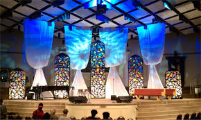 Home Lighting Design Tutorial Stained Glass Church Stage Design Ideas