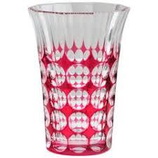 Crystal Glass Vase Signed Val Saint Lambert Crystal Glass Vase For Sale At 1stdibs